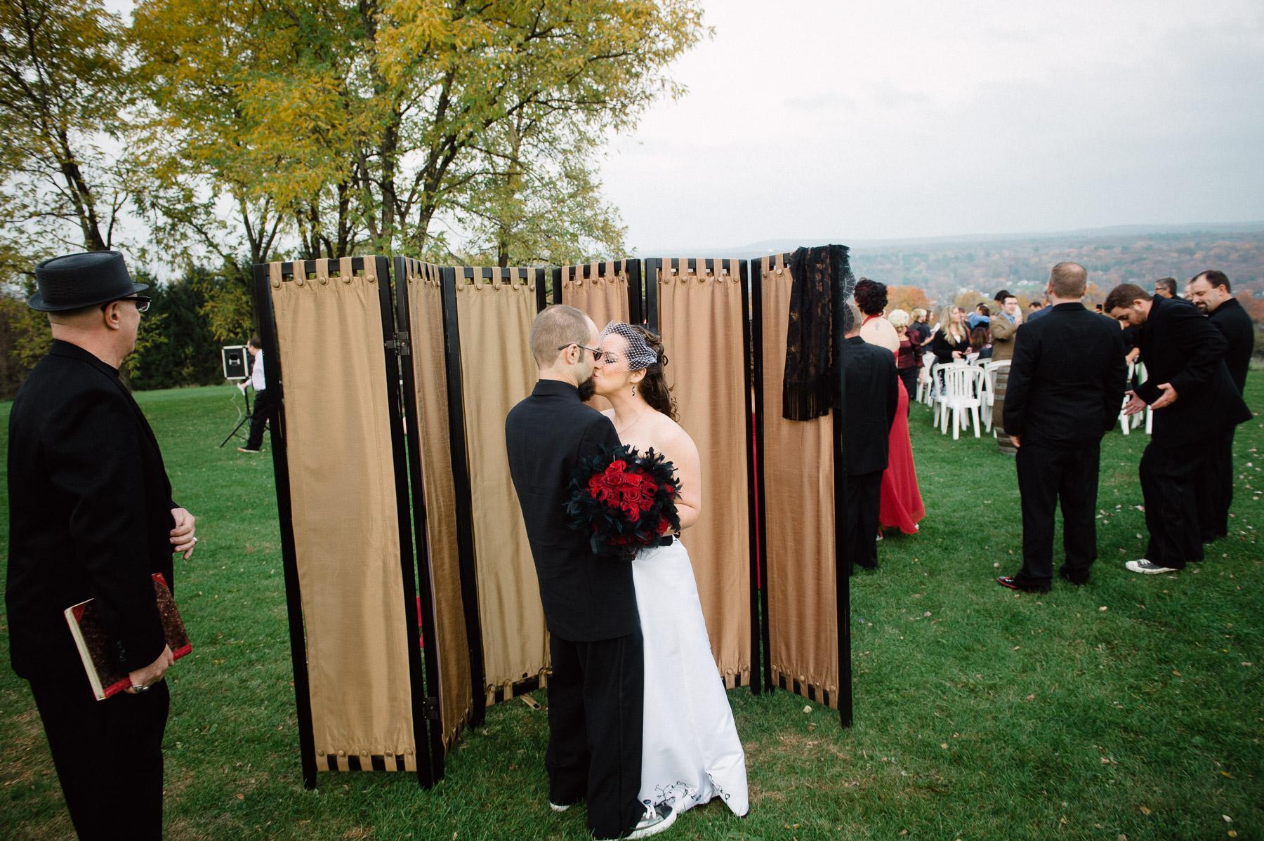 west park winery wedding