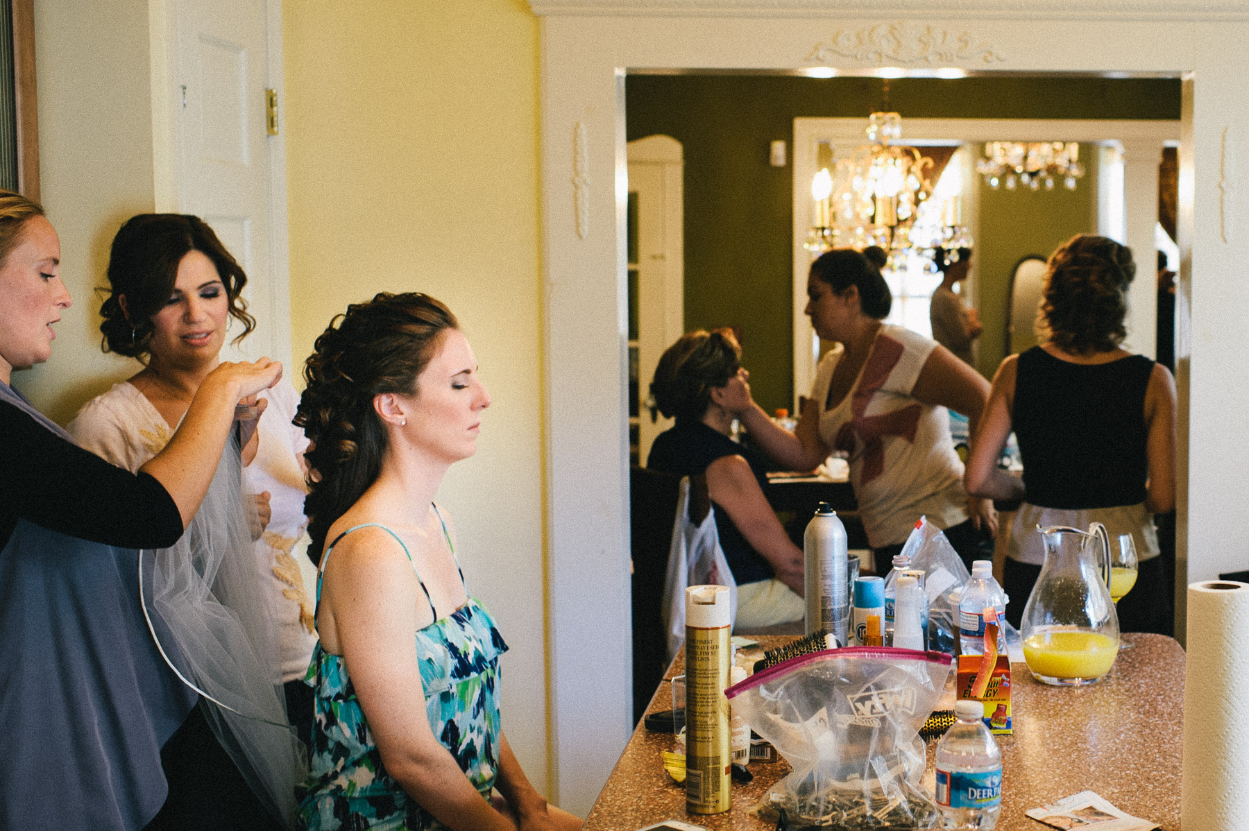 ballroom at the ben wedding