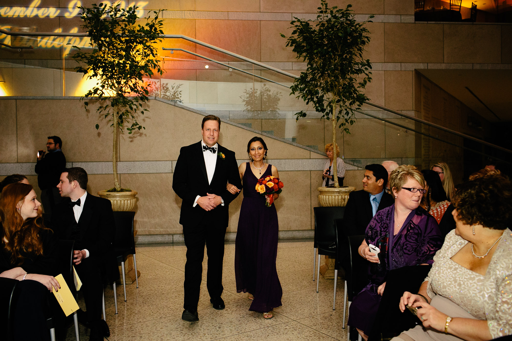 Philadelphia Constitution Center Wedding