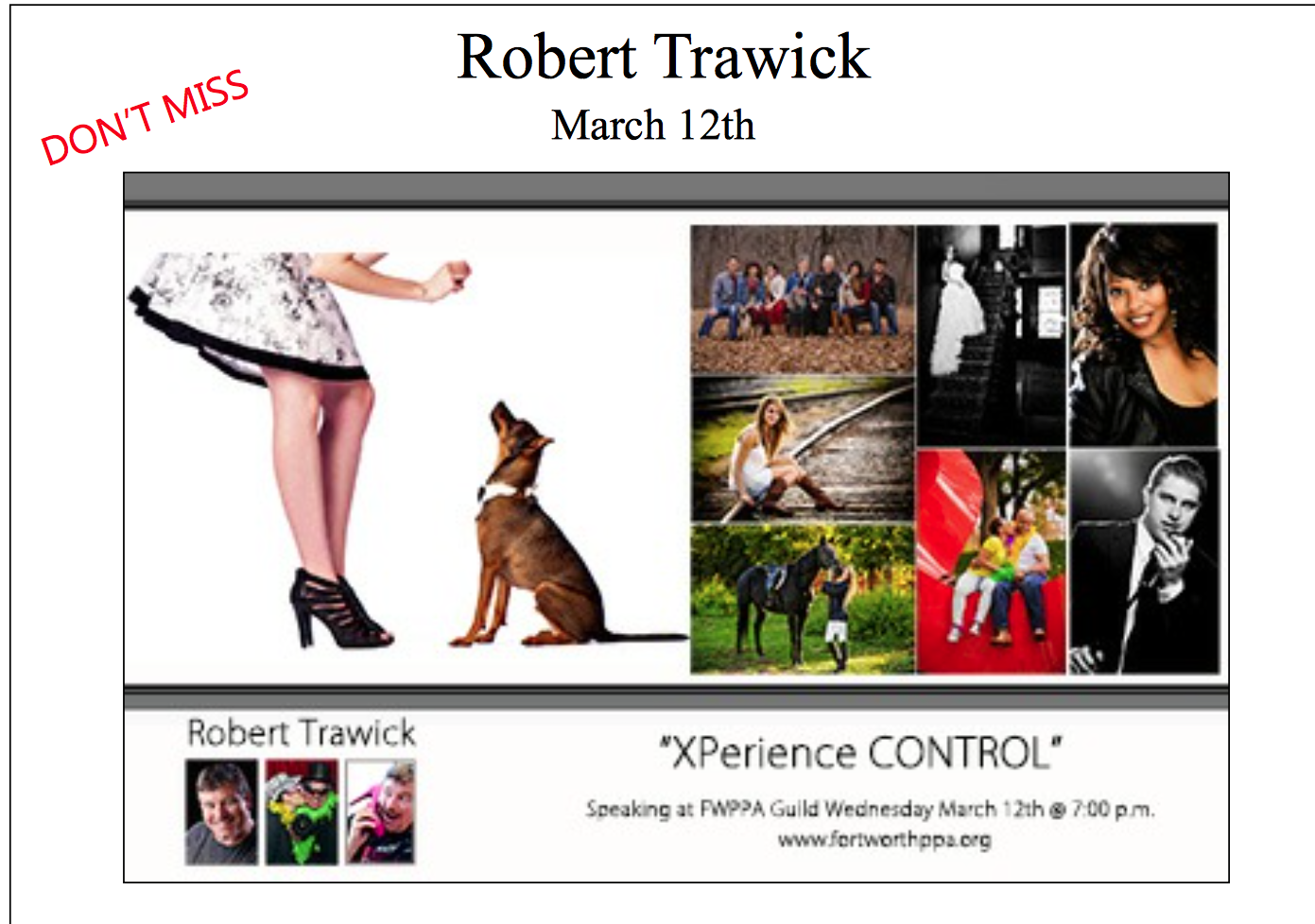 FWPPA-March-Speaker-presenter-robert-trawick-photographer
