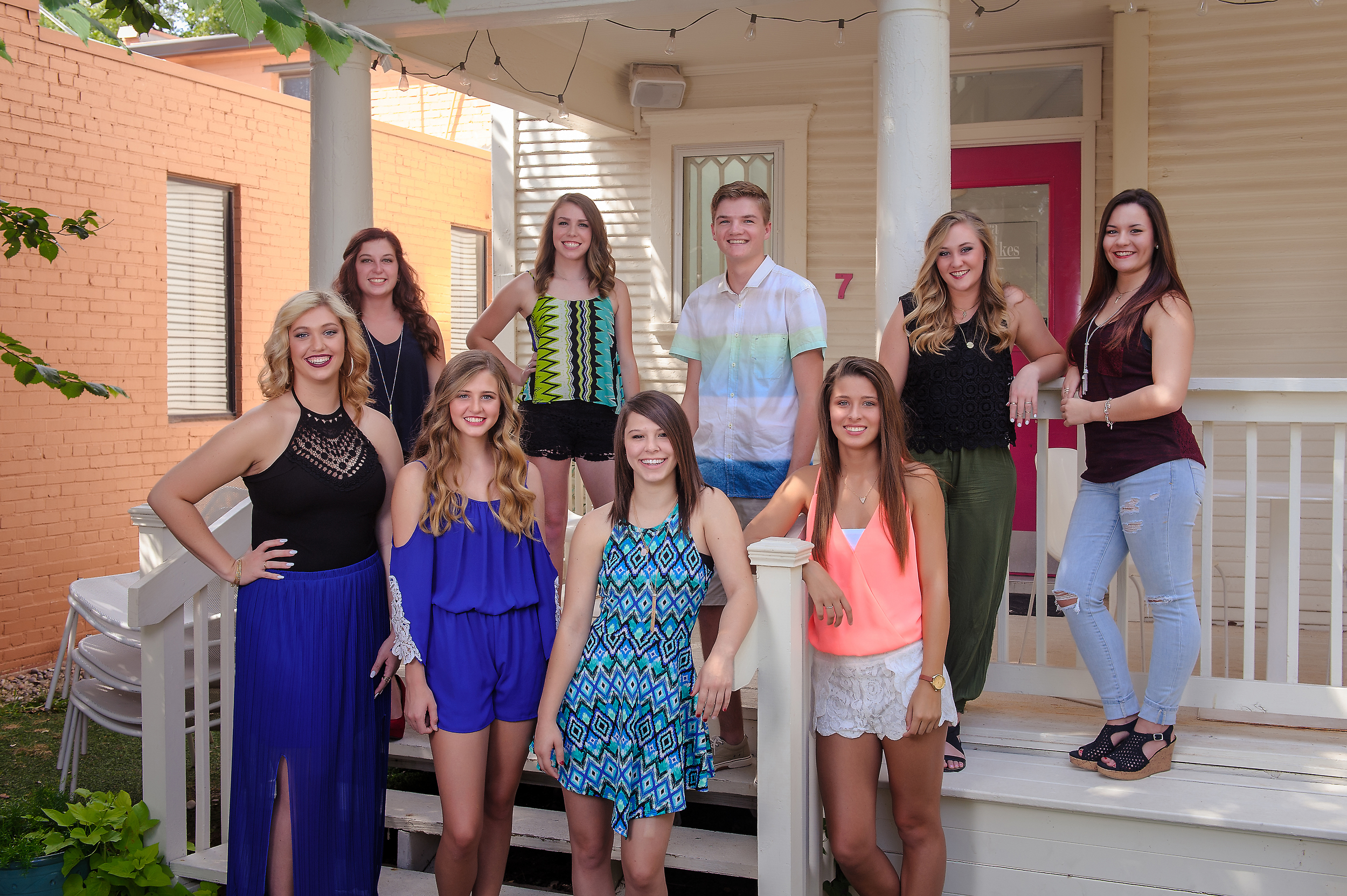 2016 Senior Models for Trawick Images - Look for these fine people at your school for details on getting your session booked.