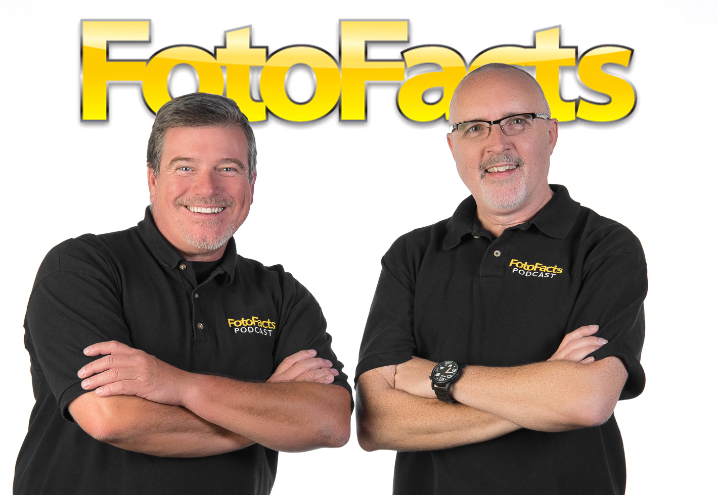 Robert Trawick and Jim Felder are the FotoFacts Twins - Listen to our podcast and find out why.