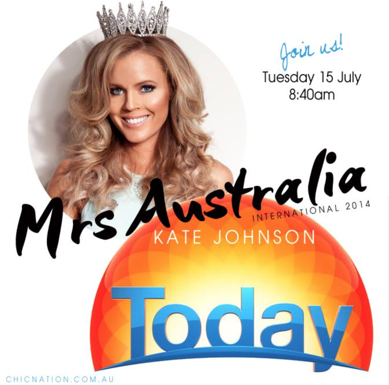 Mrs Australia International 2015 Kate Johnson