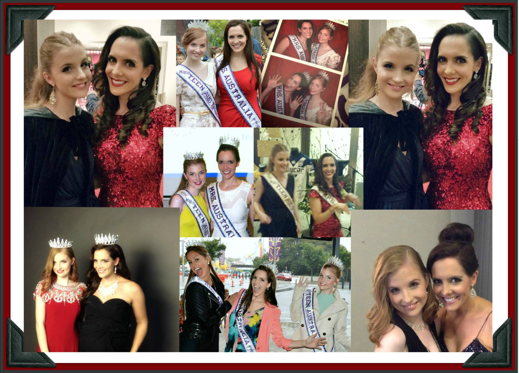 Mrs, Miss and Miss Teen Australia