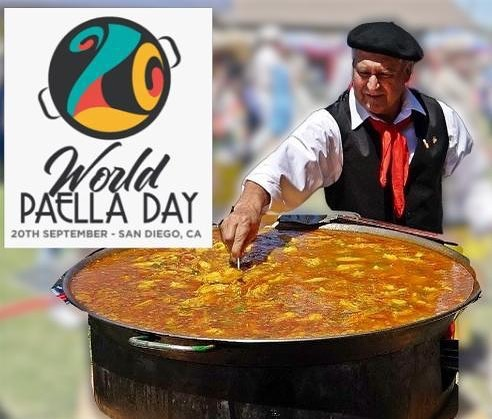 It's #WorldPaellaDay !! In the mood for #paella🥘 ? Join us next Saturday, Sept. 28th from 11am-4pm for the 56th Annual Cabrillo Festival @ Ballast Point, Naval Base Point Loma! • • #paella #cabrillo #cabrillofestival2019 #cabrillofestival #sdfoodies #sandiegofoodies #HOSSD #gotpaella
