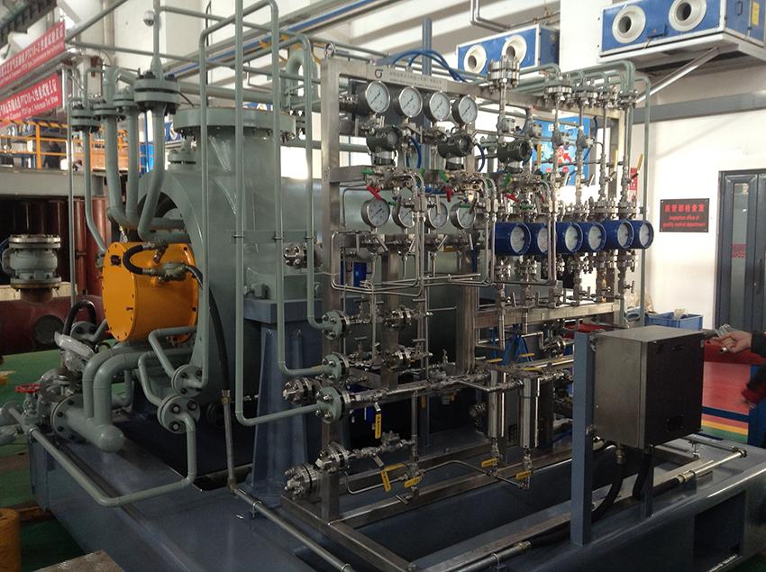NEW JCM String Test to meet stringent goals for 1070k TPA Urea Plant Syngas Compressor
