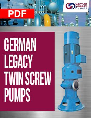 German Legacy Twin Screw Pumps