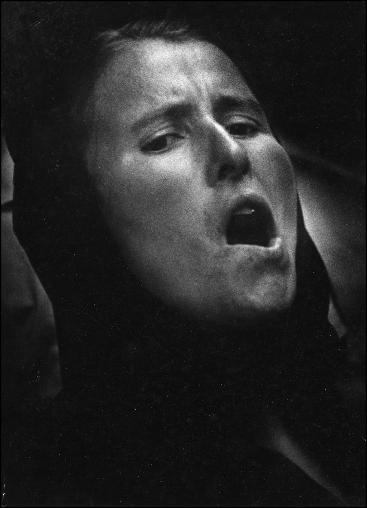 Ivan Dvoršak, Klic, 1963, črno-bela fotografija, digitalizacija Stojan Kerbler
