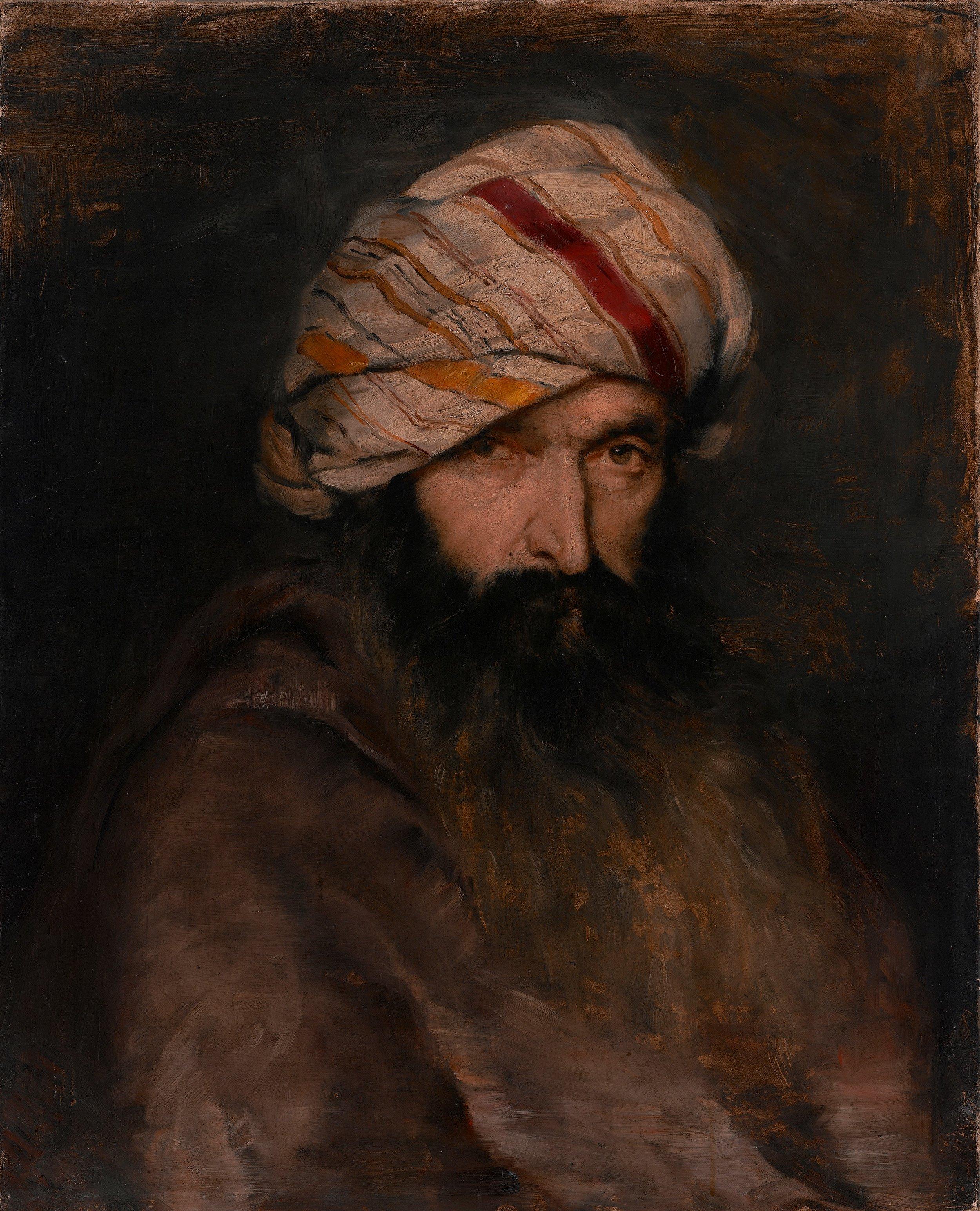 Ivana Kobilca, Orientalec, 1882-89, olje na platnu