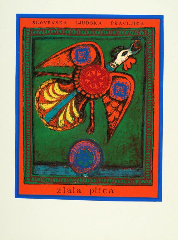 Tomaž Kržišnik, Zlata ptica, okrog 1971, arhiv UGM