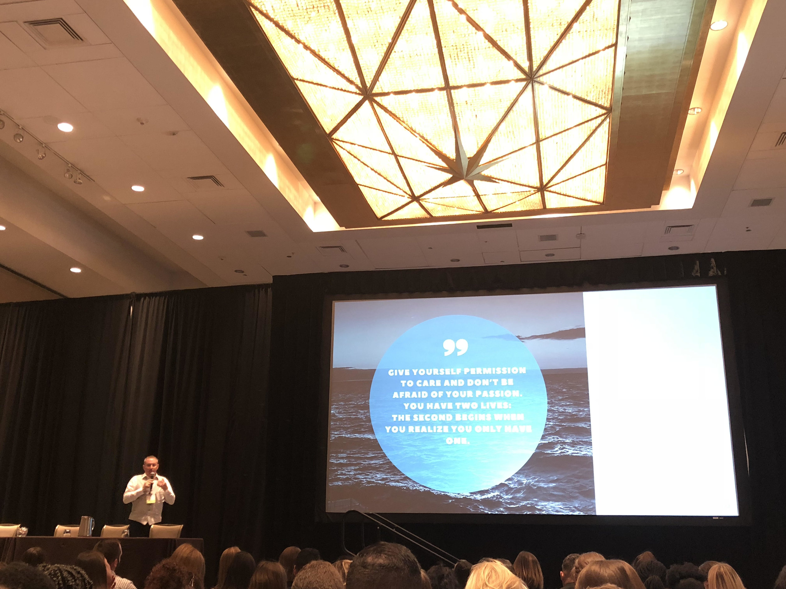 (Jason Mollica speaking at PRSSA National Conference)