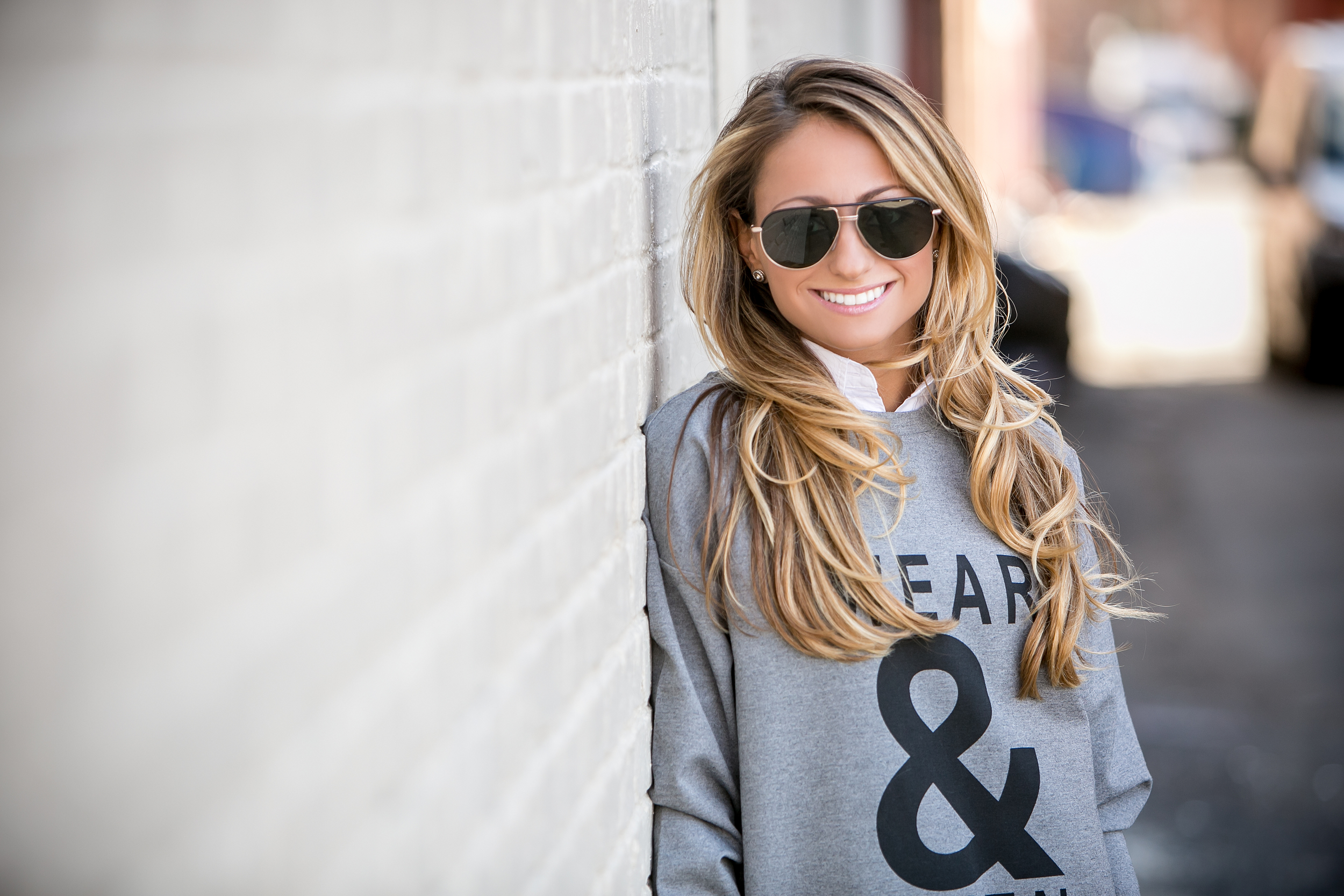 Jeans:  Girl Cave Boutique  |Sweatshirt:  Banana Republic  |