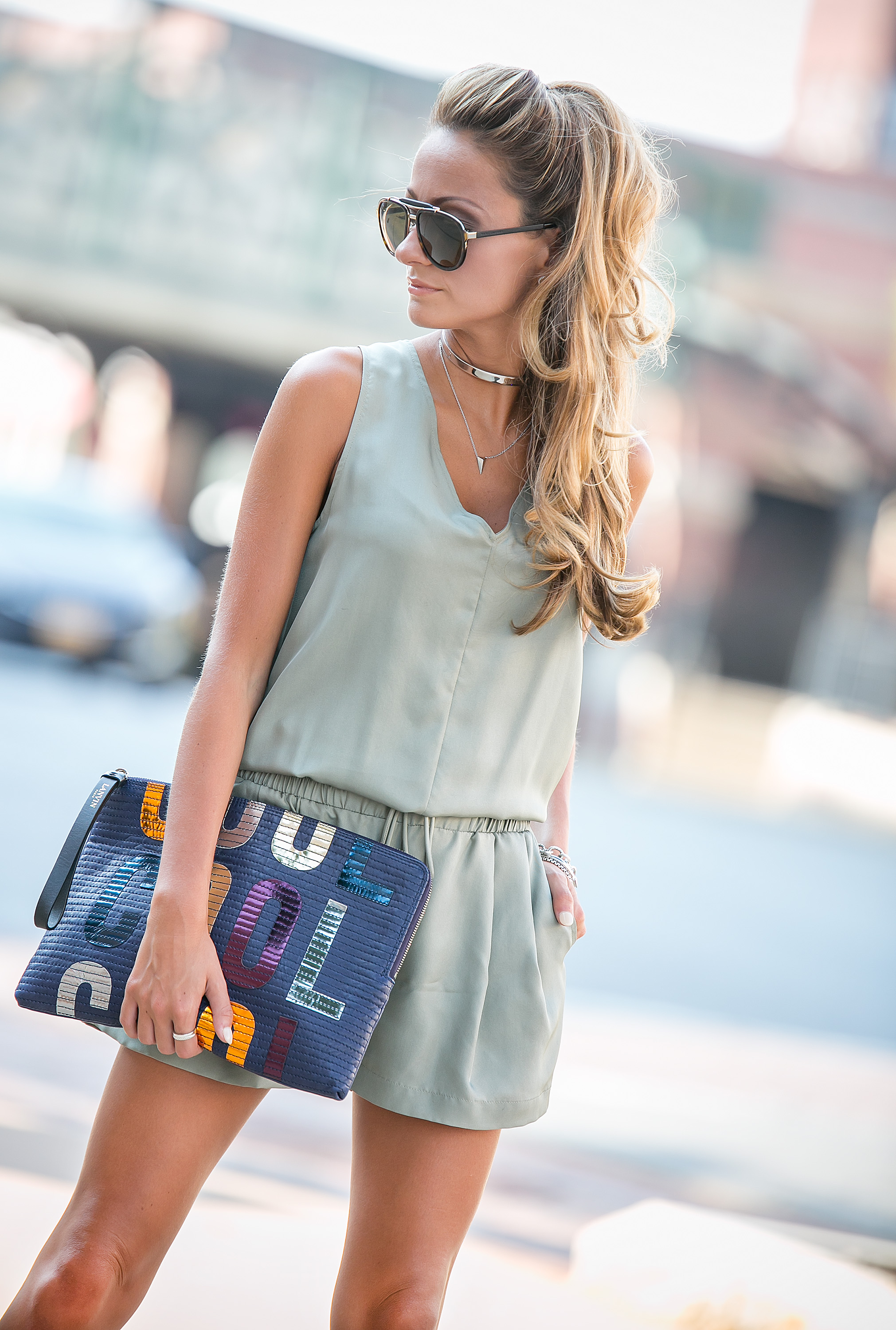 fashion blogger wearing eddie borgo, alexis bitter, lanvin, and marc jacobs accessories