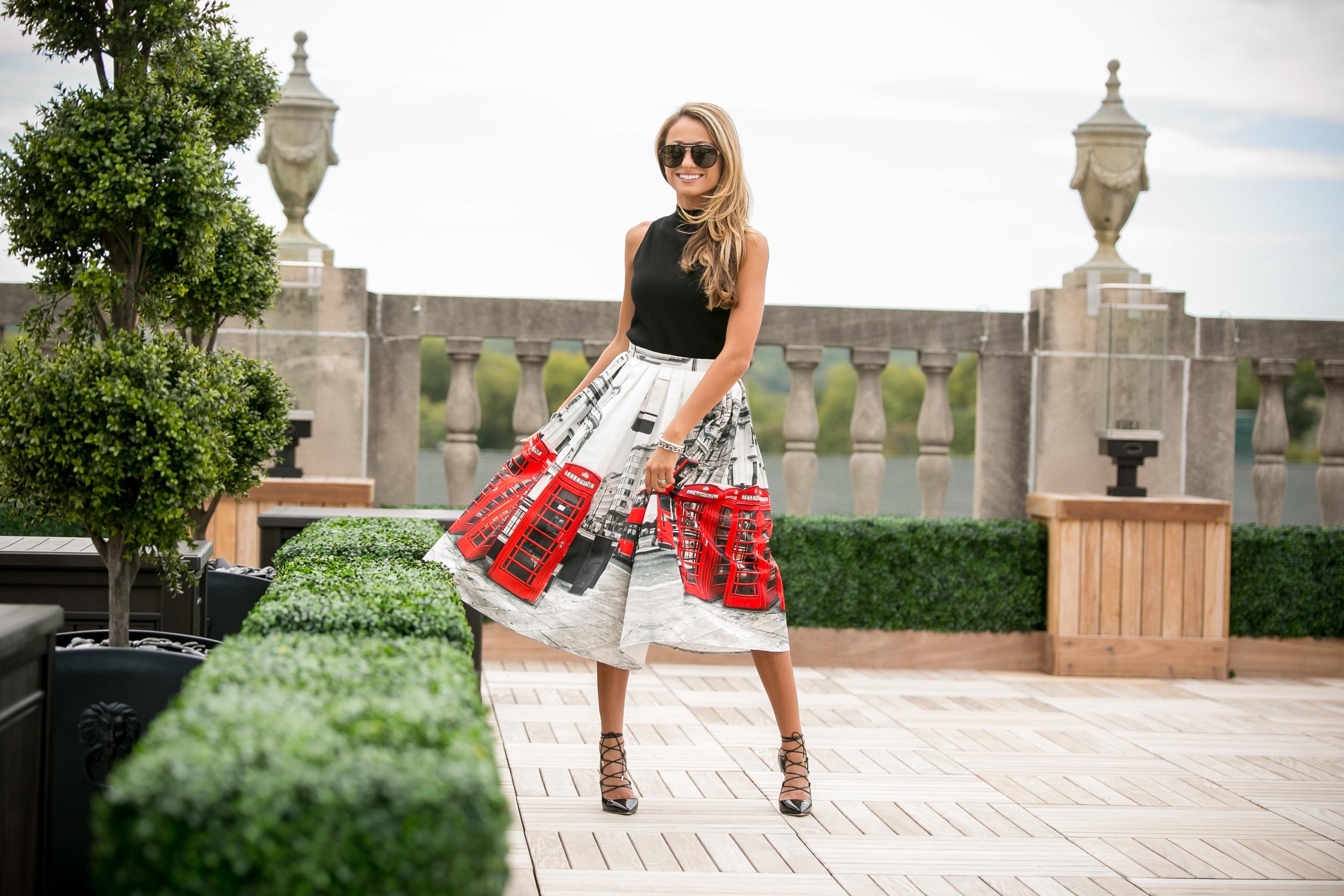 Lauren Recchia London Fashion Week