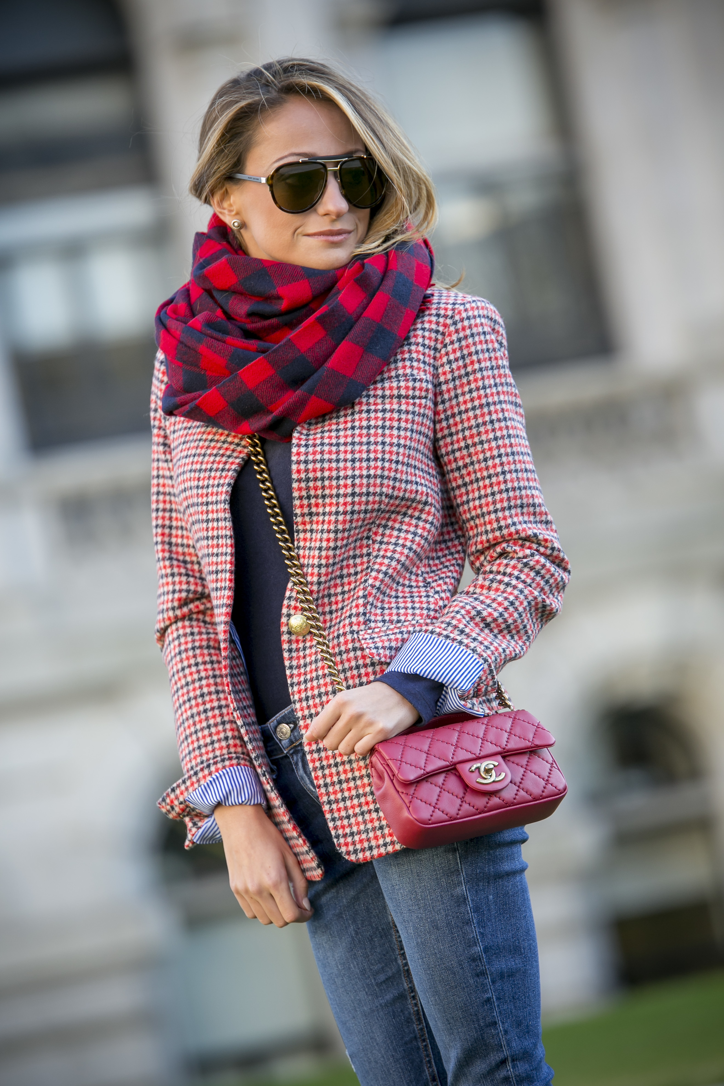 Houndstooth blazer from J.Crew