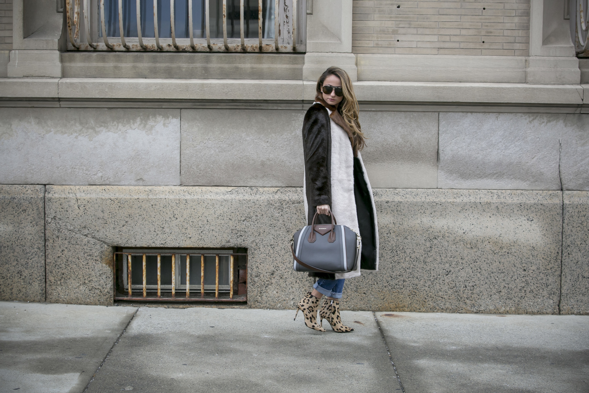 nyc streetstyle by Lauren Recchia www.northofmanhattan.com wearing Edun, Givenchy, Barbara Bui