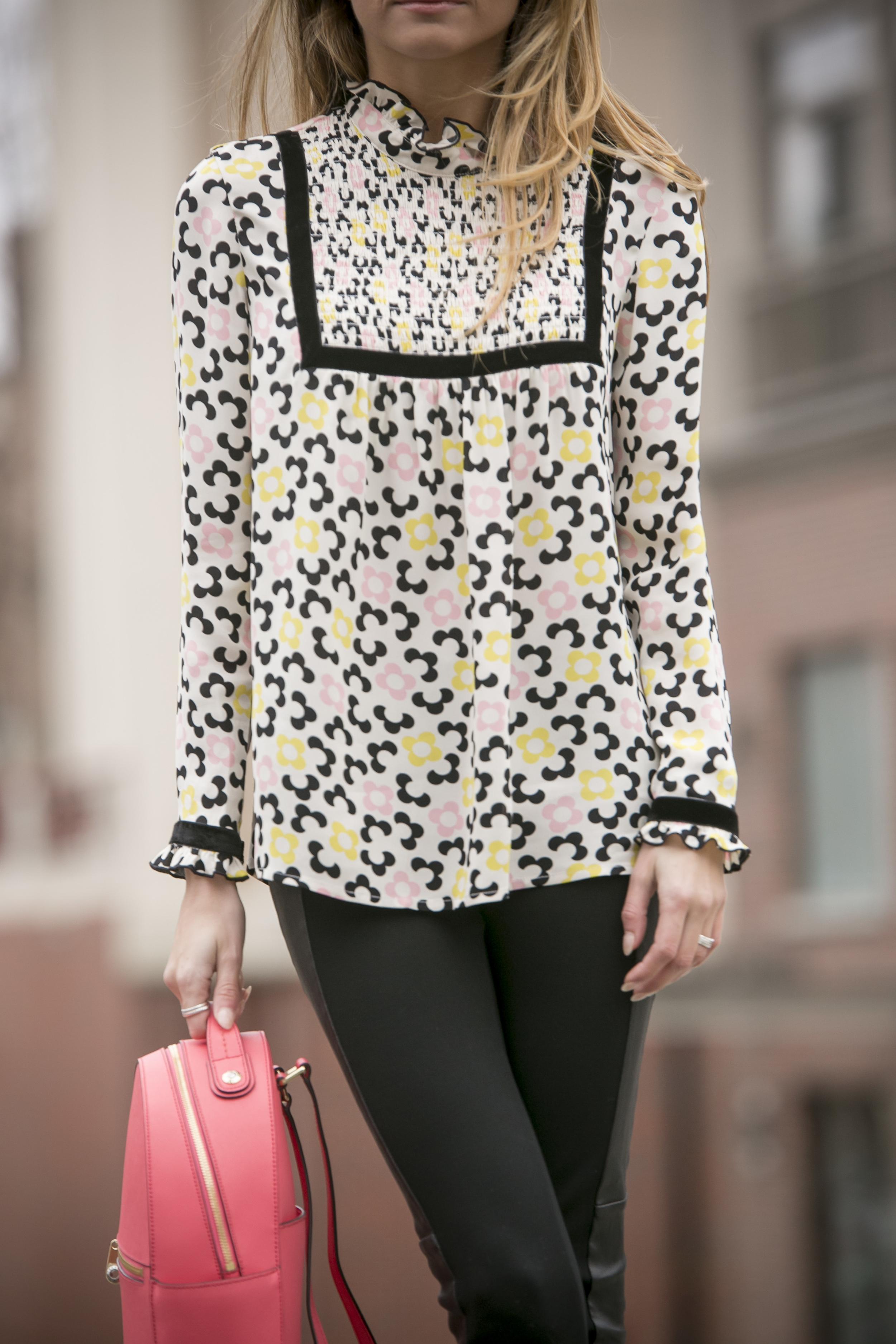 l'orla floral blouse