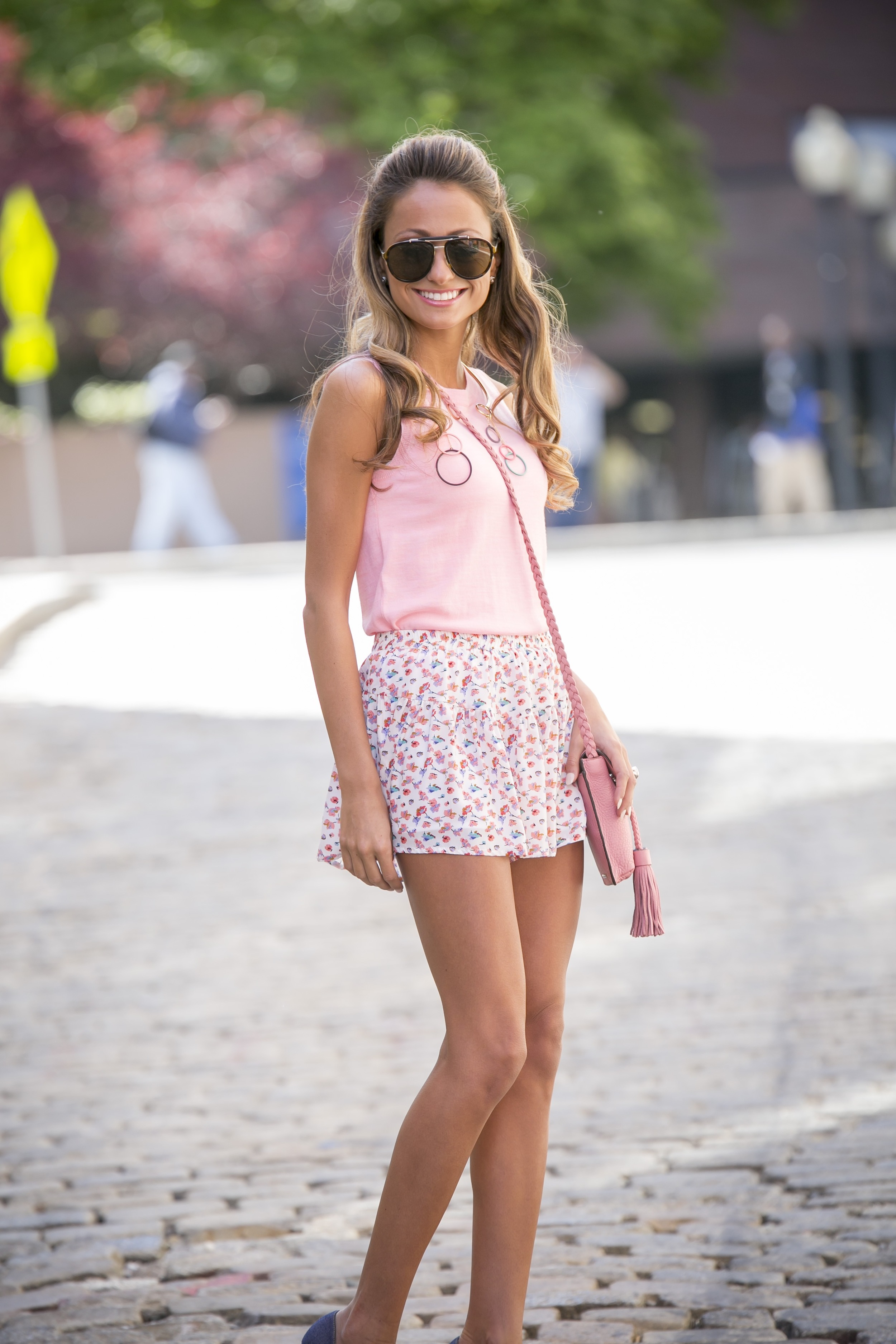 petal power. floral shorts for summer