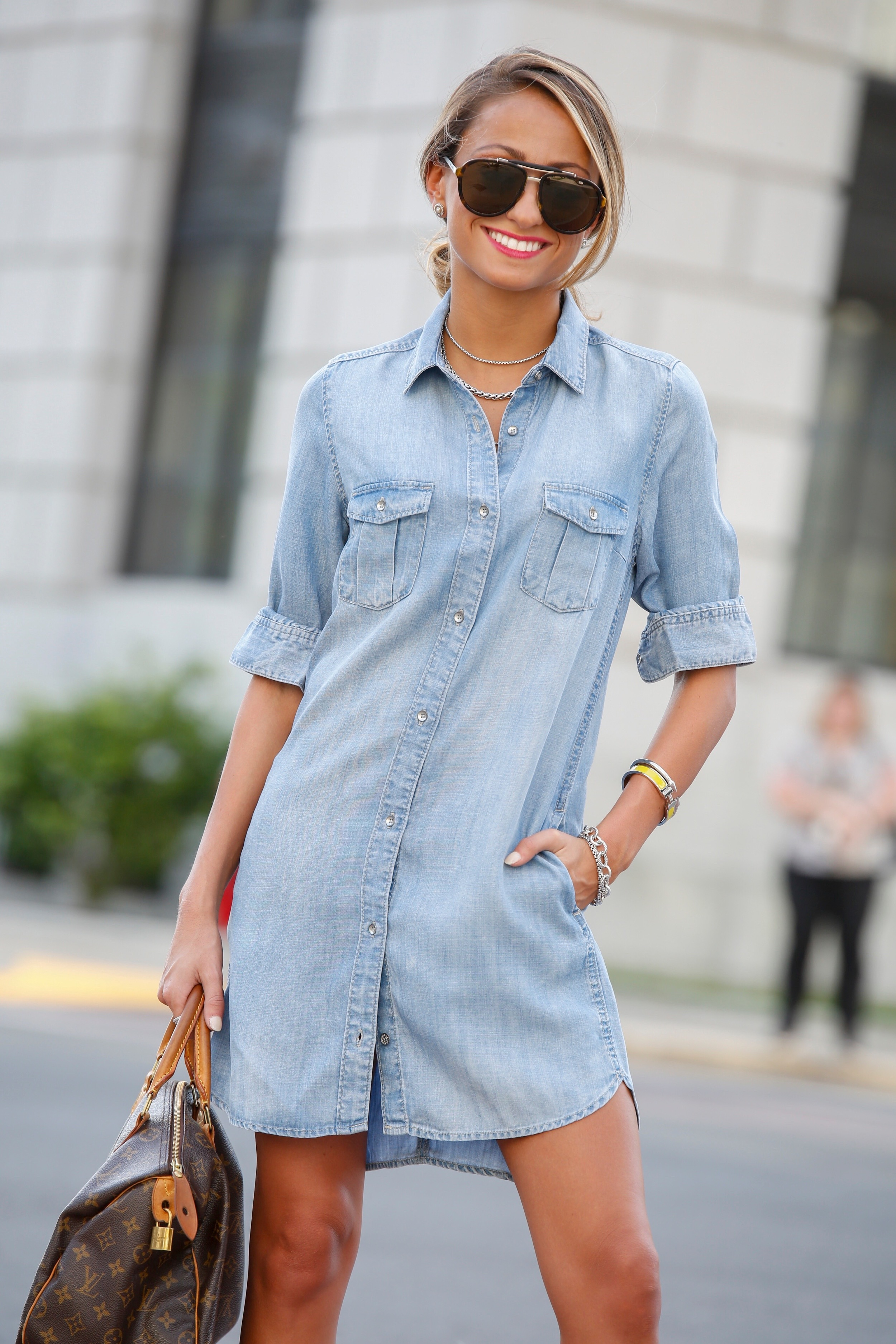 denim dress for spring 2016