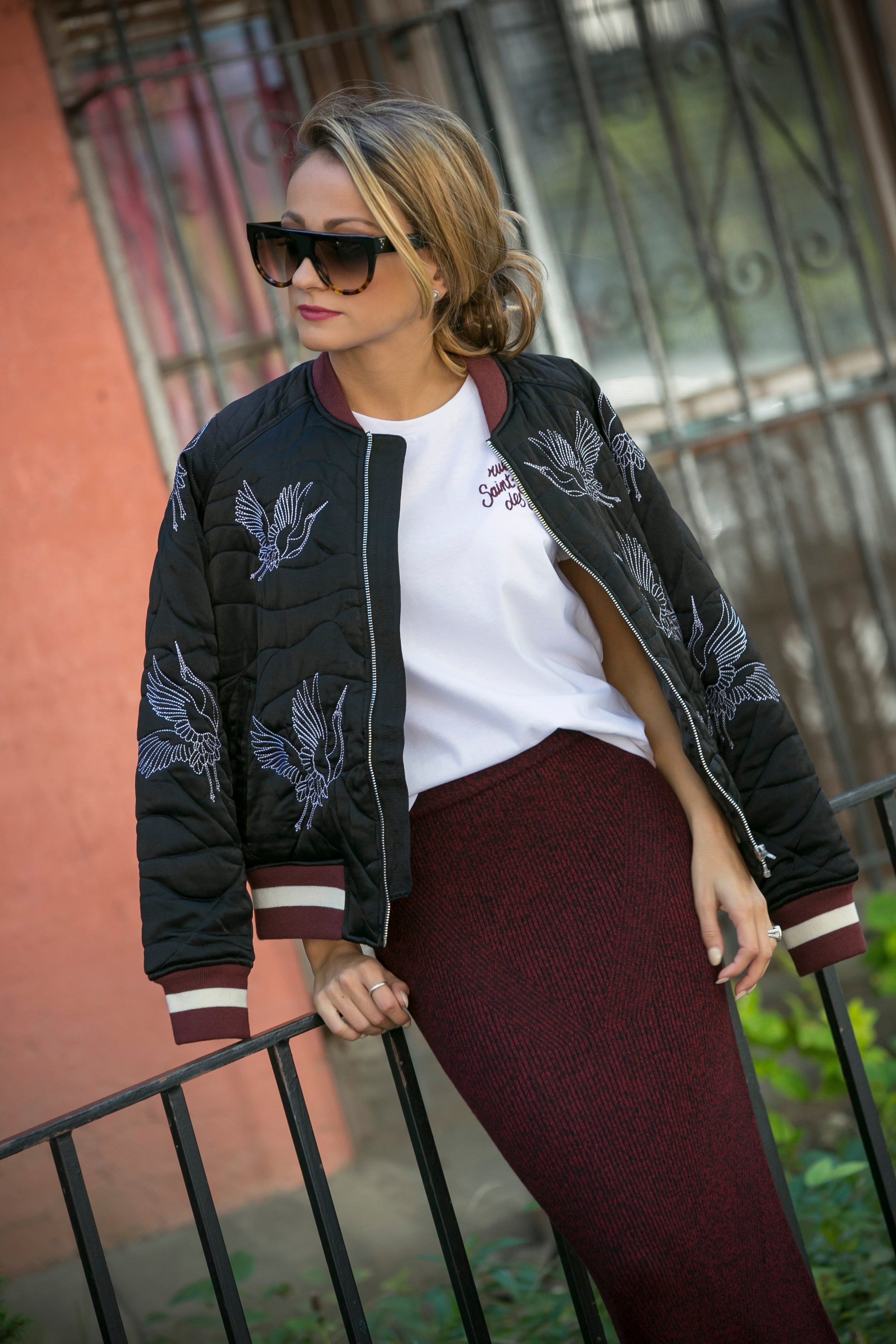 fashion blogger streetstyle during fashion month