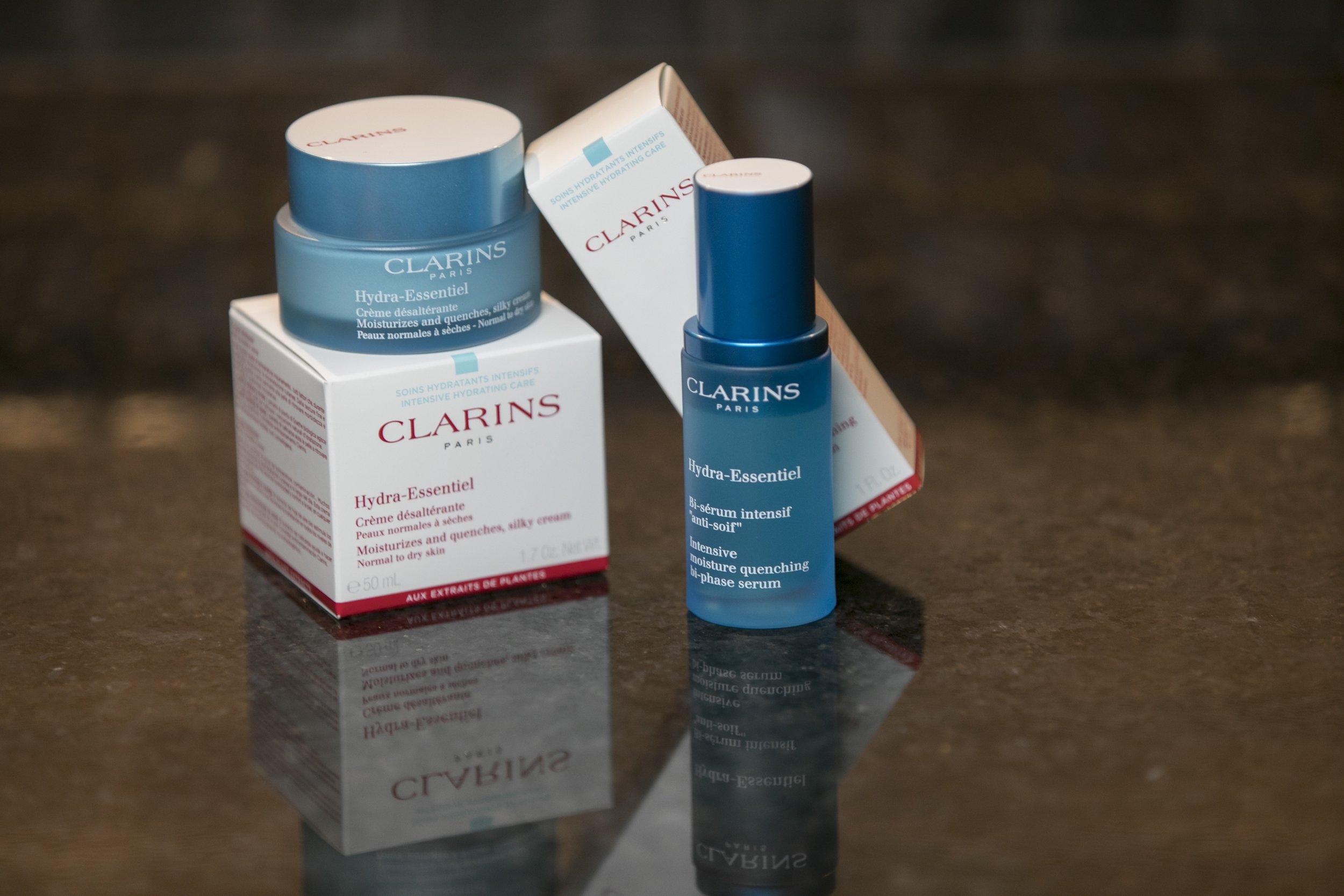 clarins hydra-essential