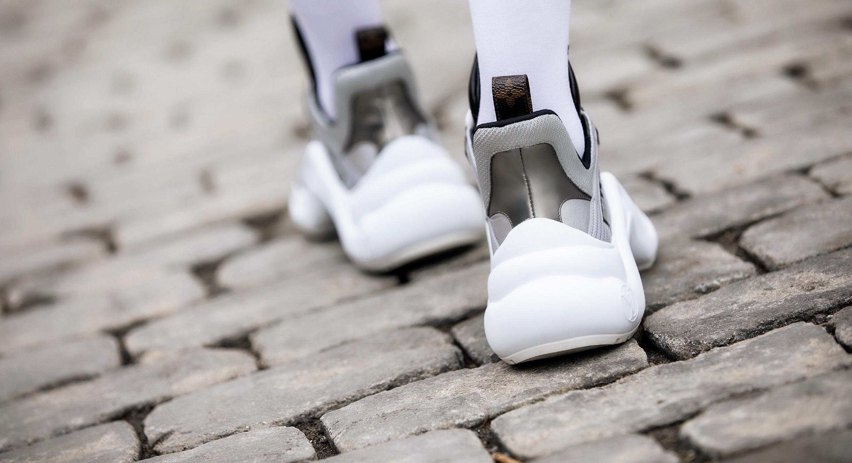Top: Vetements | Dress:BCBG (older)|Sneakers:Louis Vuitton|Socks: Balenciaga     Dino Petrocelli Photography