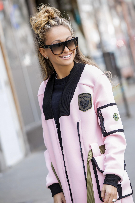 Coat: Womenson via Clothia|Sweatshirt: H&M |Pants:  Rag & Bone     Dino Petrocelli Photography