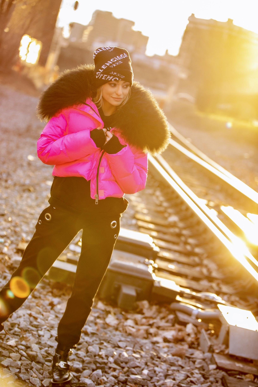 chic winter streetstyle by Lauren Recchia
