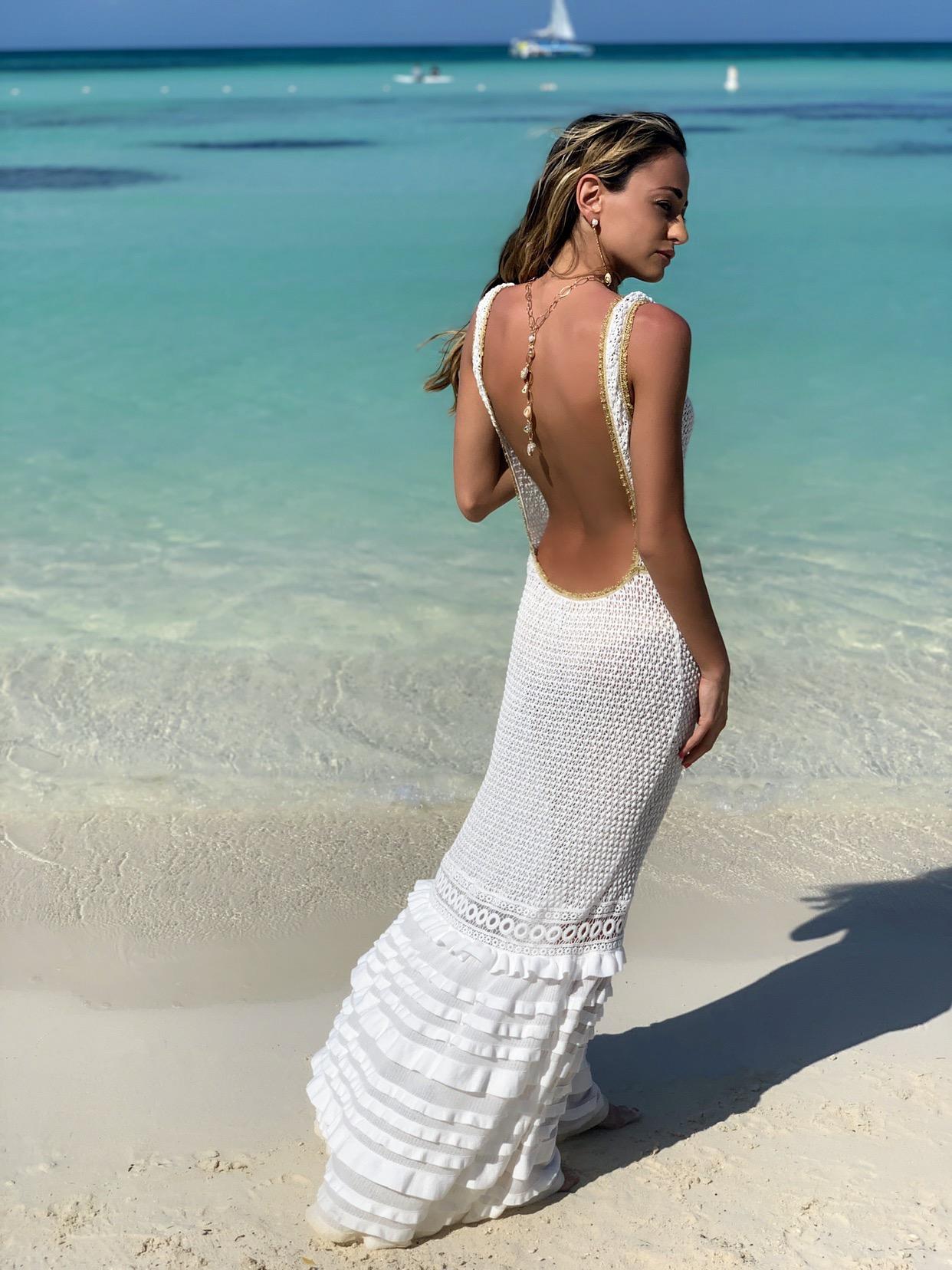 CHIO swimwear resort dress and jewelry by zaxie by stefanie taylor