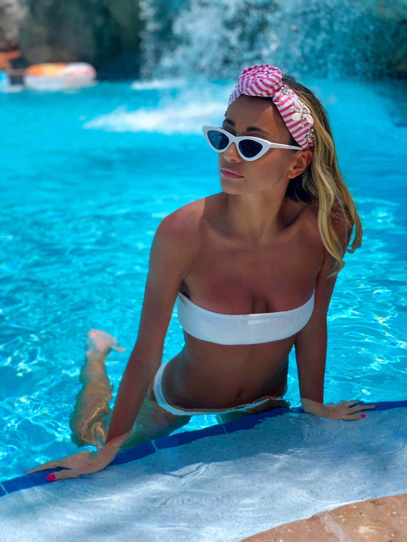 Headband:   NamJosh  | Bikini:  Triangl