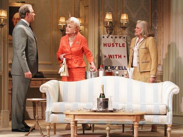 John Larroquette (William Russell), Angela Lansbury (Sue-Ellen Gamadge), & Candice Bergen (Alice Russell)