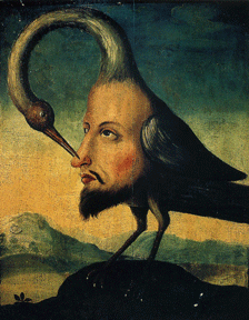 The Bird of Self-Knowledge , Anonymous, 18th Century