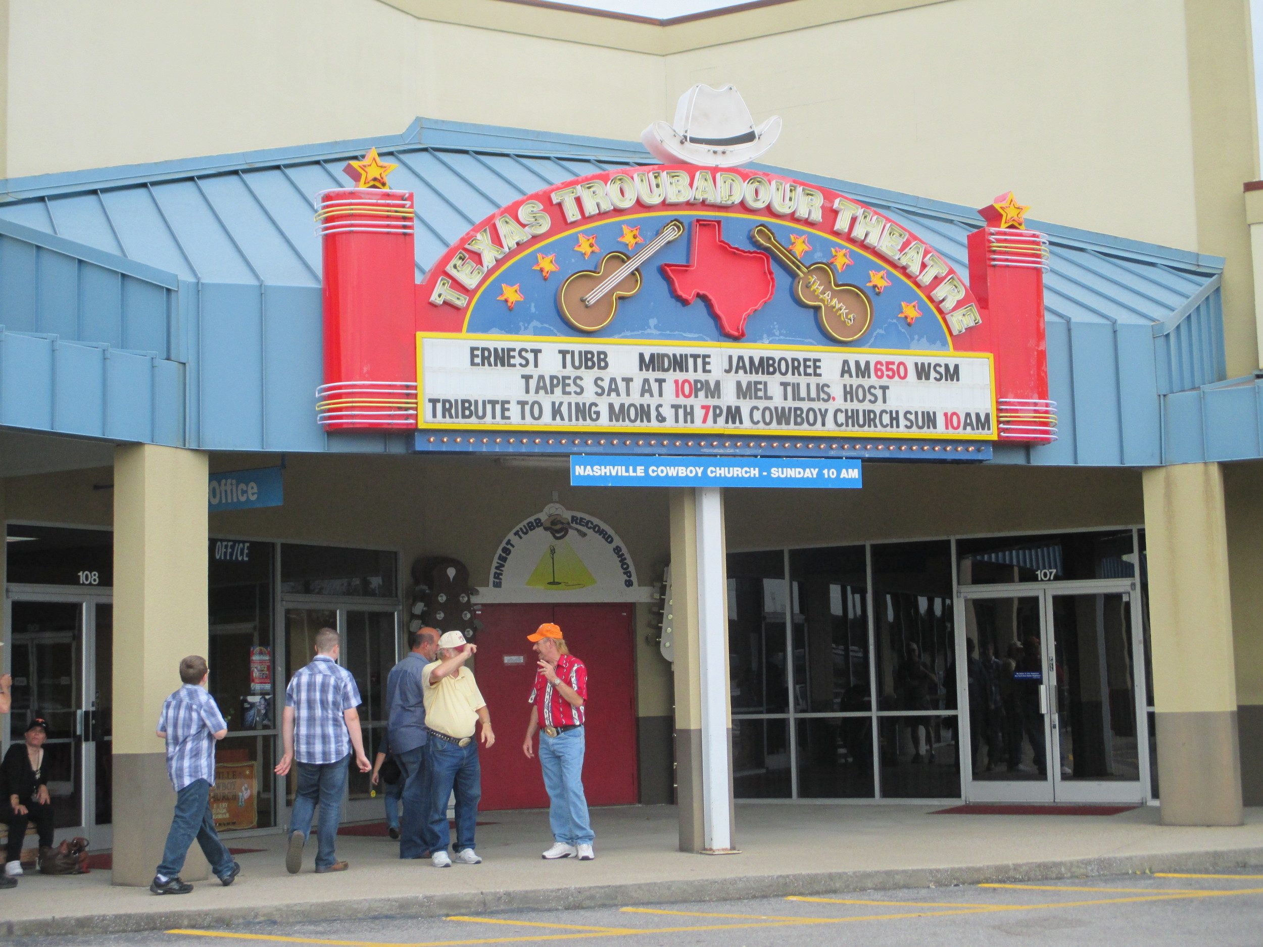 Arriving At the Theater