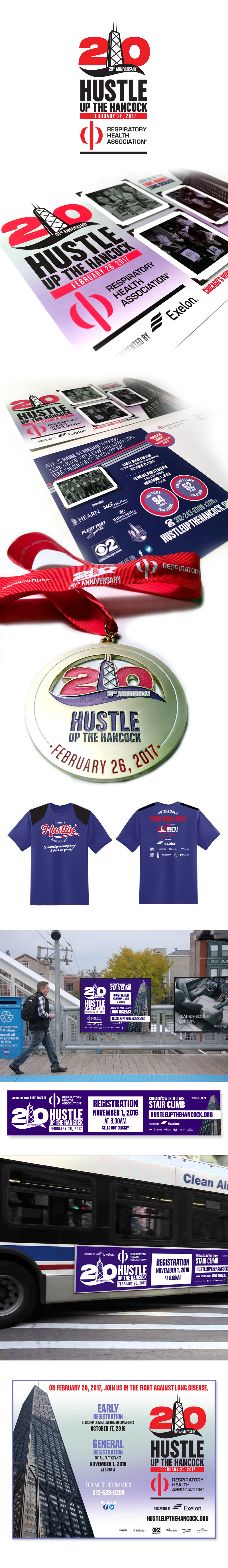 - RHA Hustle Up the Hancock 2017 Campaign.