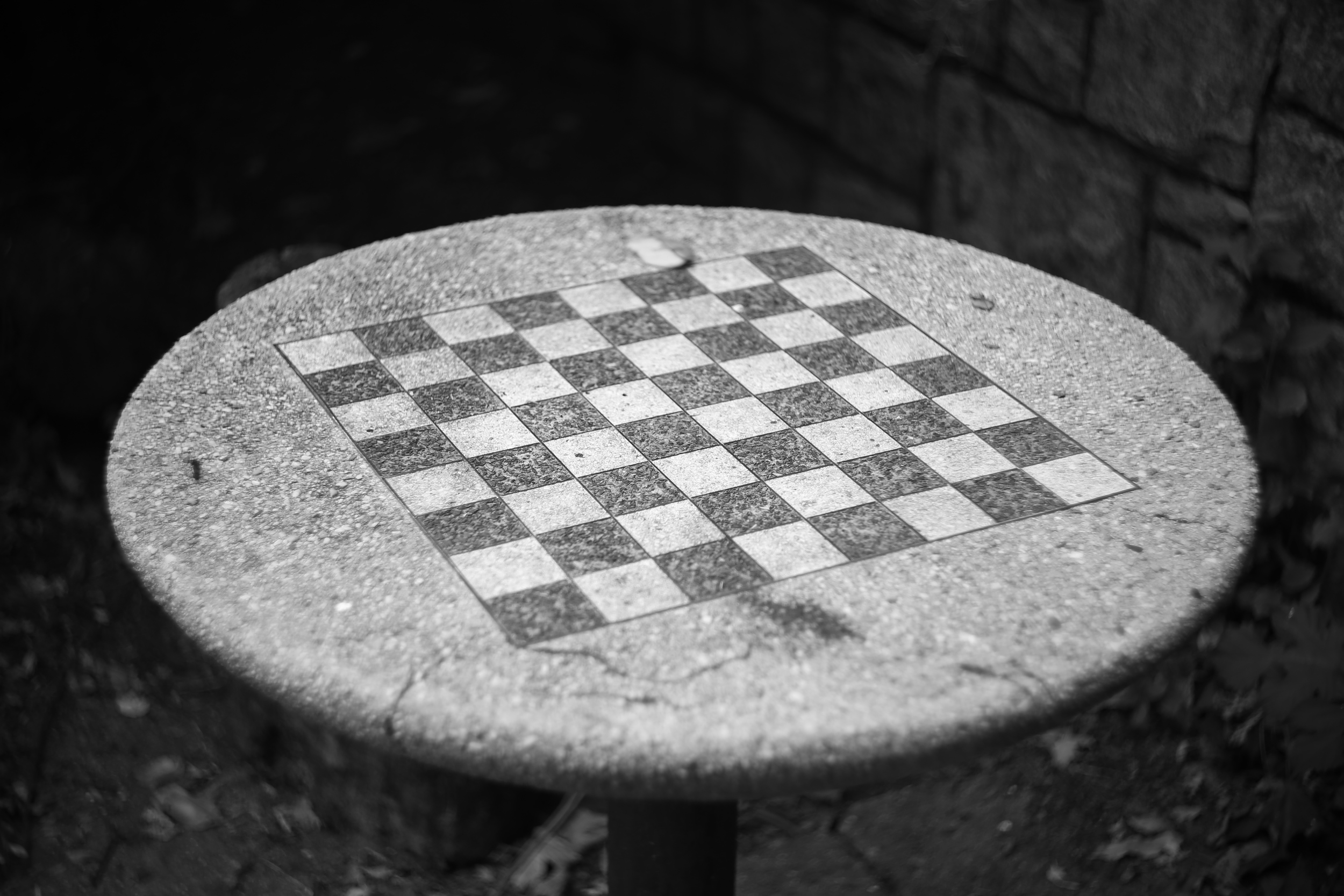 Forgotten Chess Table
