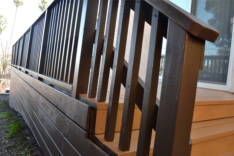 28. Deck Railing restoration
