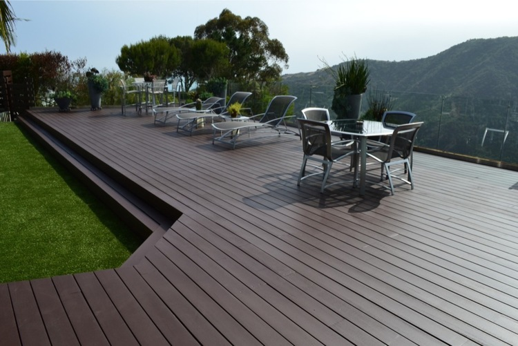 16. Deck Refinishing - AFTER