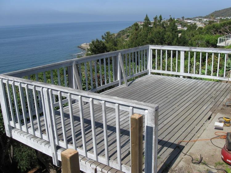 6. Deck Refinishing - Malibu, Ca