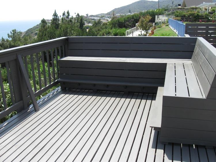 9. Custom built bench - Los Angeles, Ca