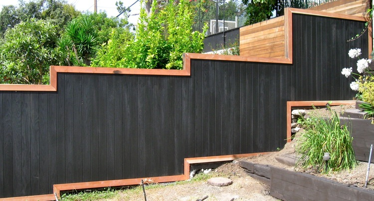 61. Fence Refinishing - With new trim
