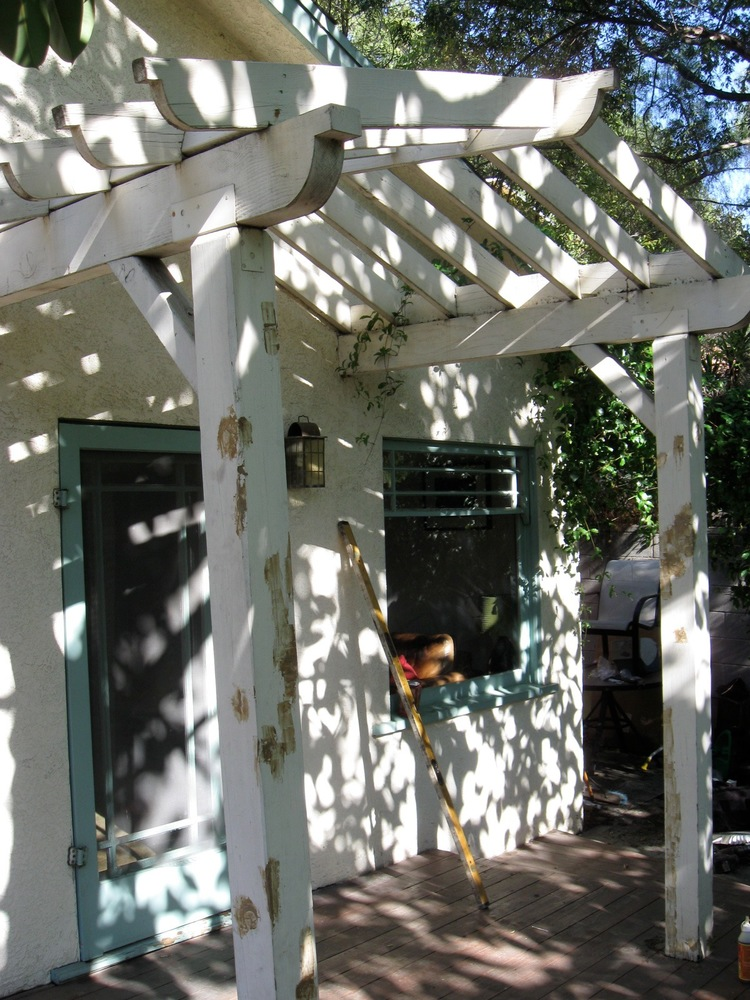 26. Pergola Restoration - Silver Lake, Ca