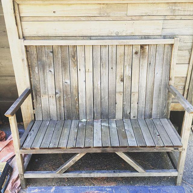 Custom Bench, Reclaimed wood LosAngeles