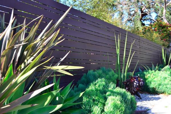 Modern fence - Mar Vista 90066