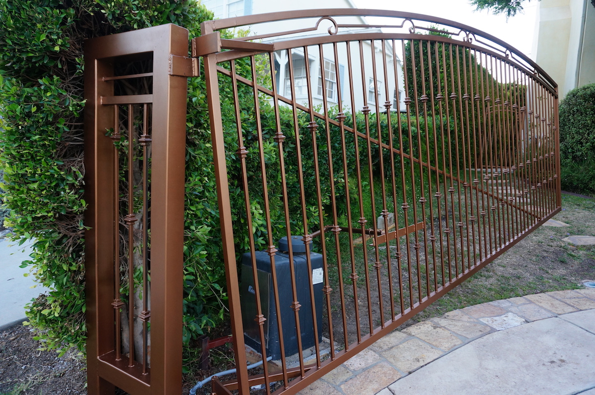 Beverly Hills, Iron Gate, Steel Fence, Los Angeles Gate, Metal Fence