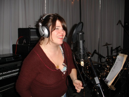 The lovely Colleen Christi Willett on backing vocals!