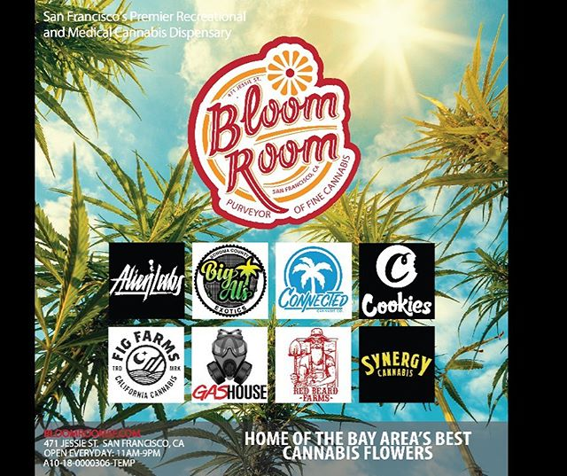 Just a few of our amazing vendors! ✨🎊 #loveyall #appreciationpost #bloomlove #bloomroomsf #cannabiscommunity #highsociety