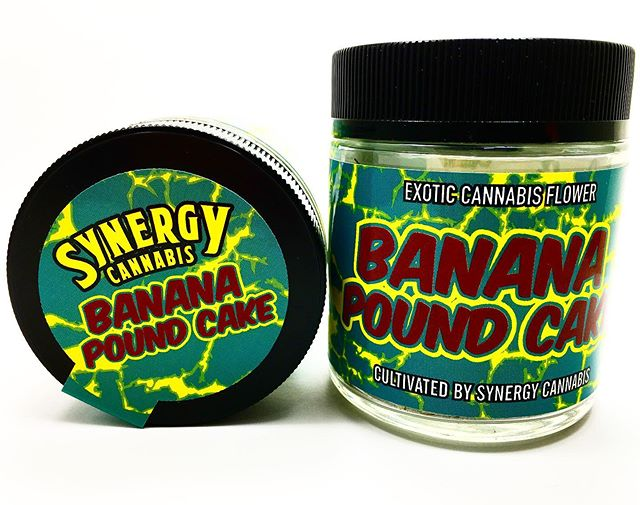 🌟This new exclusive drop from @synergy_cannabis is what dreams are made of 🌟 Golden State Banana x London's Pound Cake 🍌🍰 #synergycannabisco #exoticcannabis #topshelf #flavors #cannabiscommunity #highsociety #bloomlove #bloomroomsf #sanfrancisco #california #bayarea