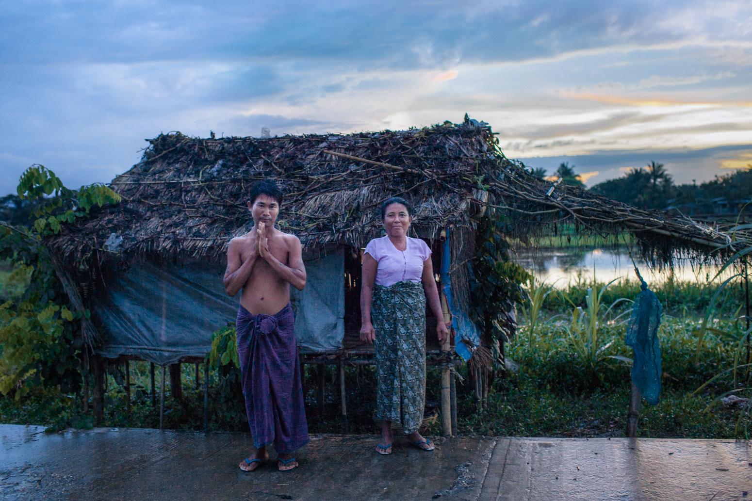 Outside Rangoon, Burma