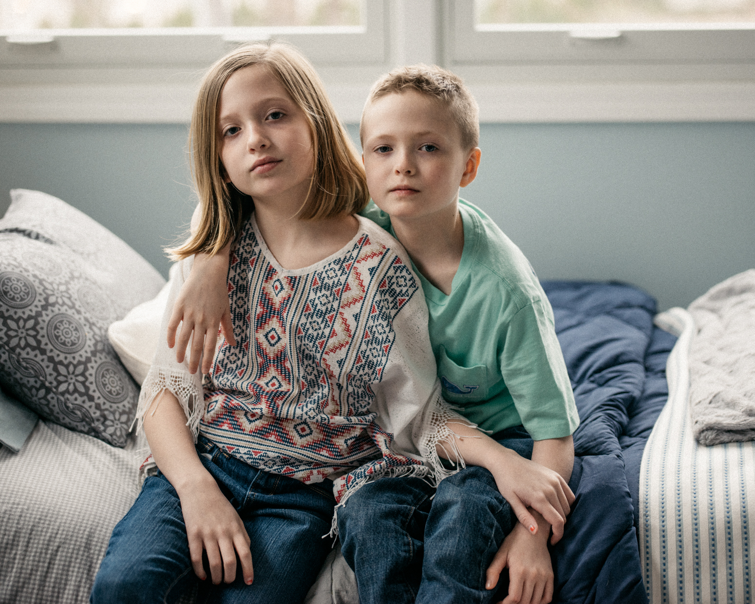 9 year old cis- and transgender twins, Northern, Illnois