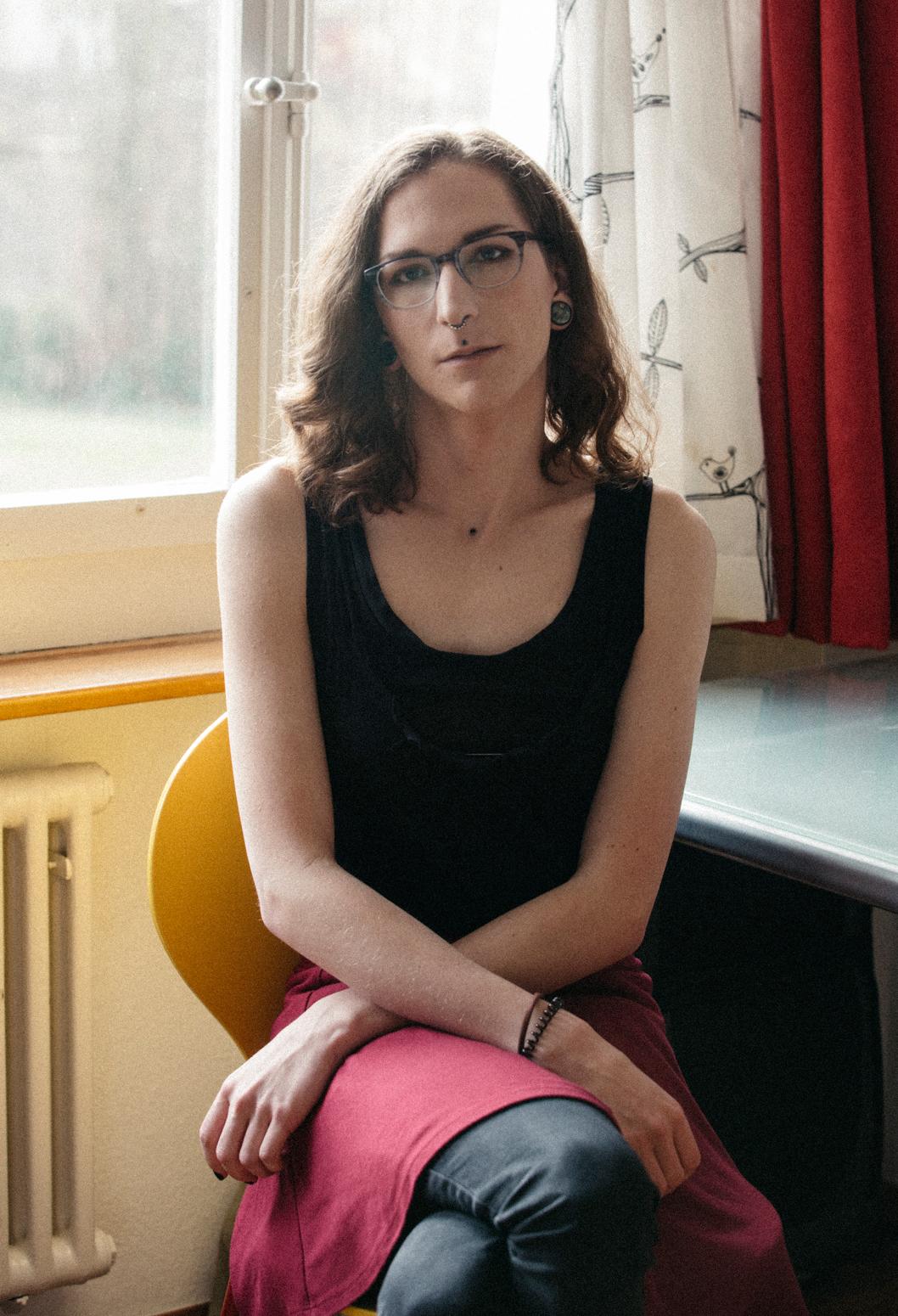 Riley Alexis, 20, AGender, Switzerland